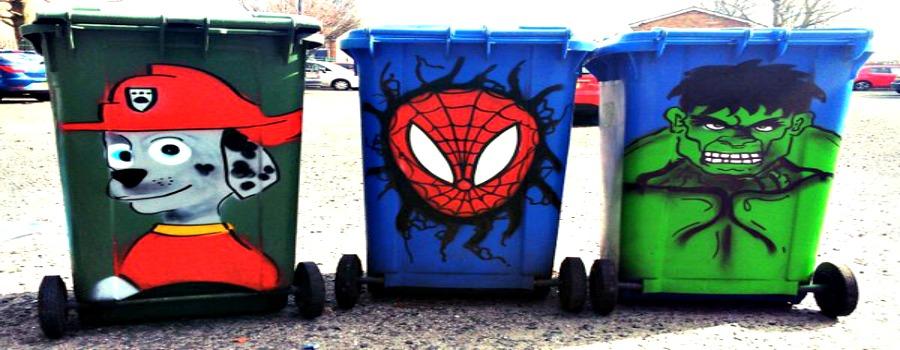 Bling your bin!