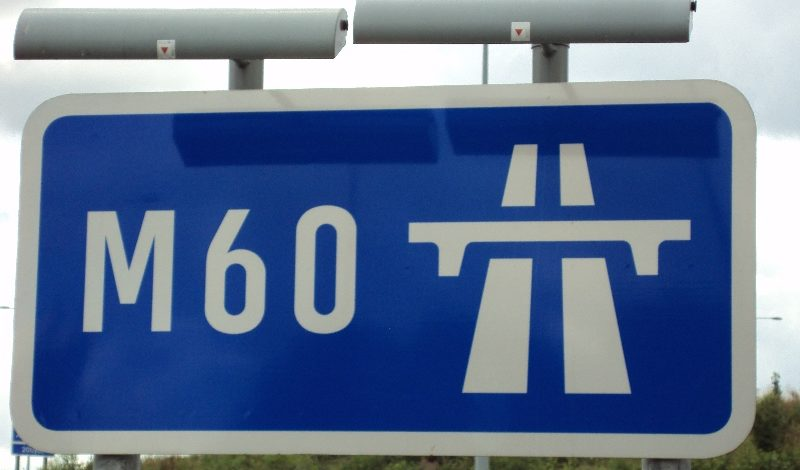 Elderly man drives in the fast lane of M60 in the WRONG direction for five miles