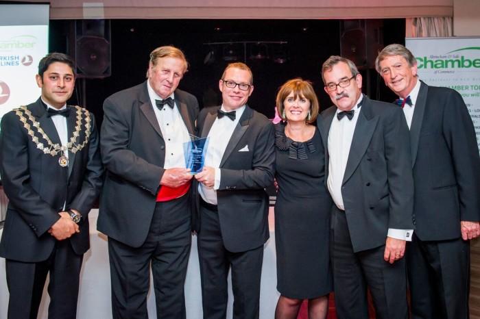 Gordon Burns returns to host Altrincham & Sale Chamber of Commerce awards