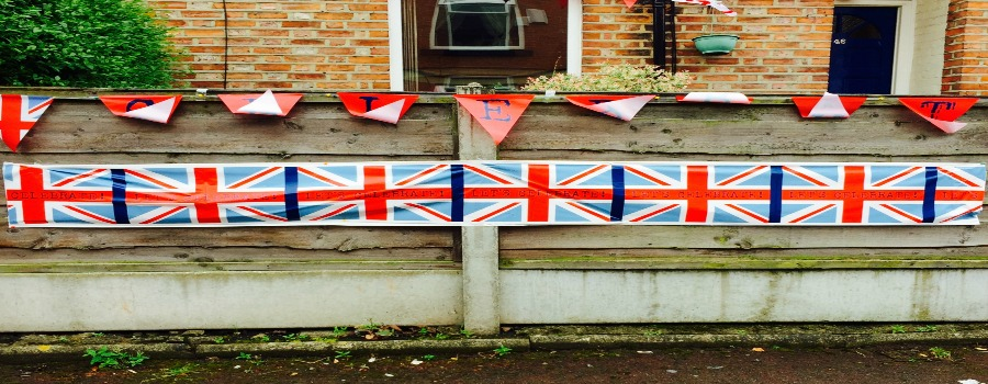Sale street parties defy the weather to mark the Queen's special day