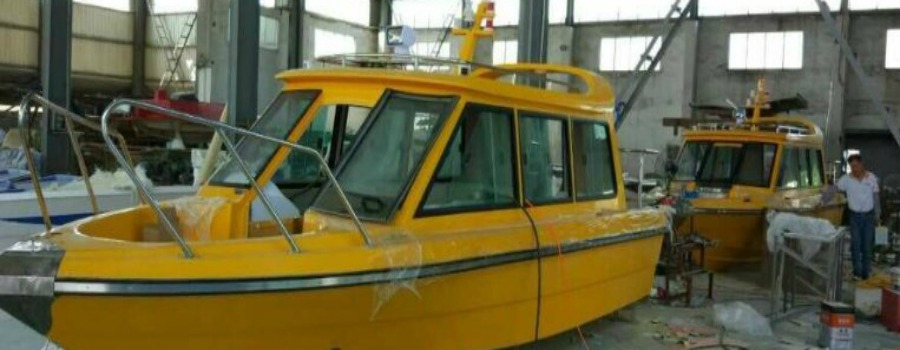 Sale's Water Taxis are heading to the canal on a slow boat from China