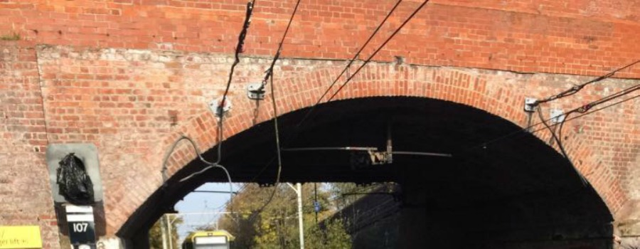 Exploding overhead lines at Brooklands – was this reason the trams were in chaos throughout the rush hour?