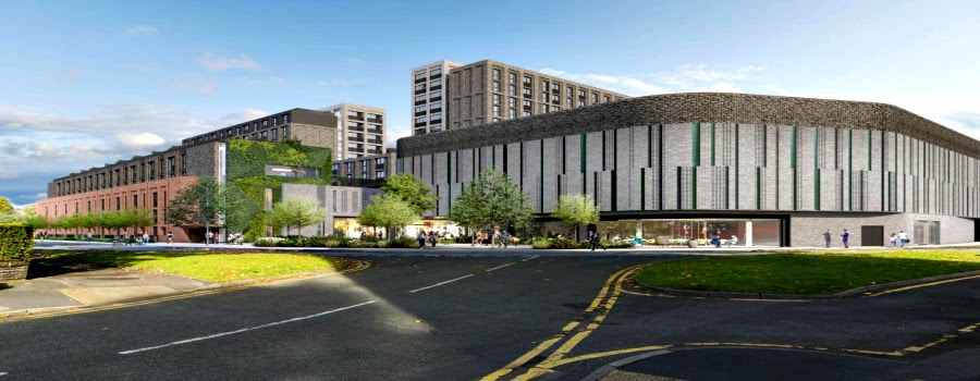 Plans submitted for a £70 million new shopping centre at Sale