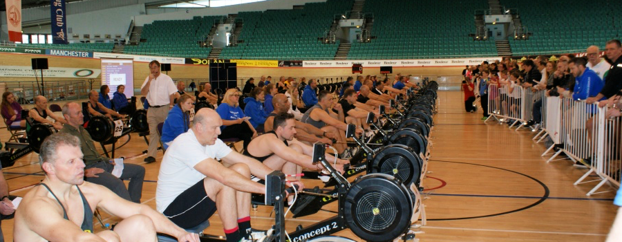 Trafford claim a silver medal in the national indoor rowing championships…