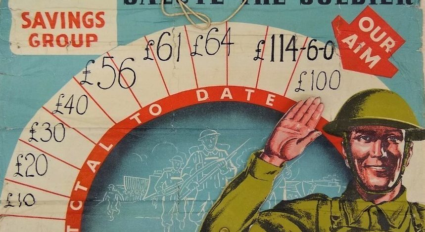 Archives show how Sale put its money behind the war effort