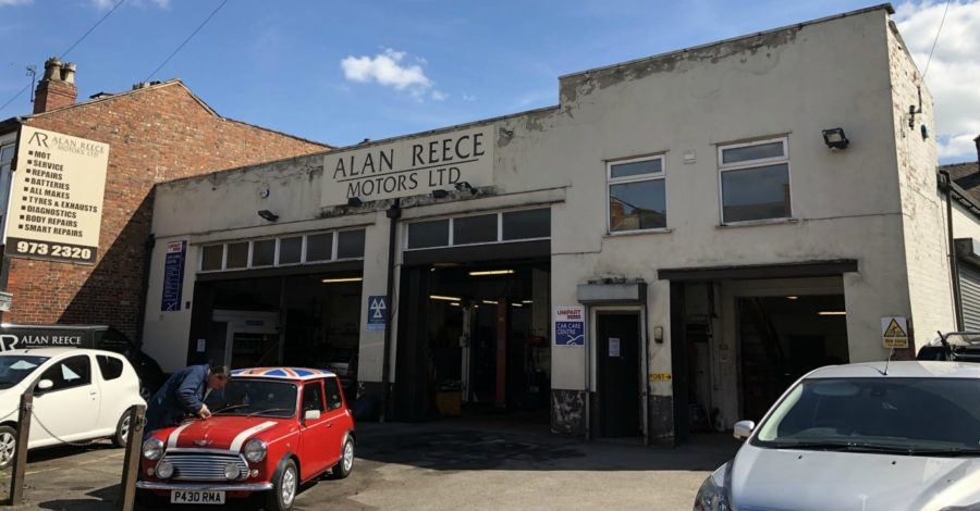 Garages open as businesses in Sale aim to recover