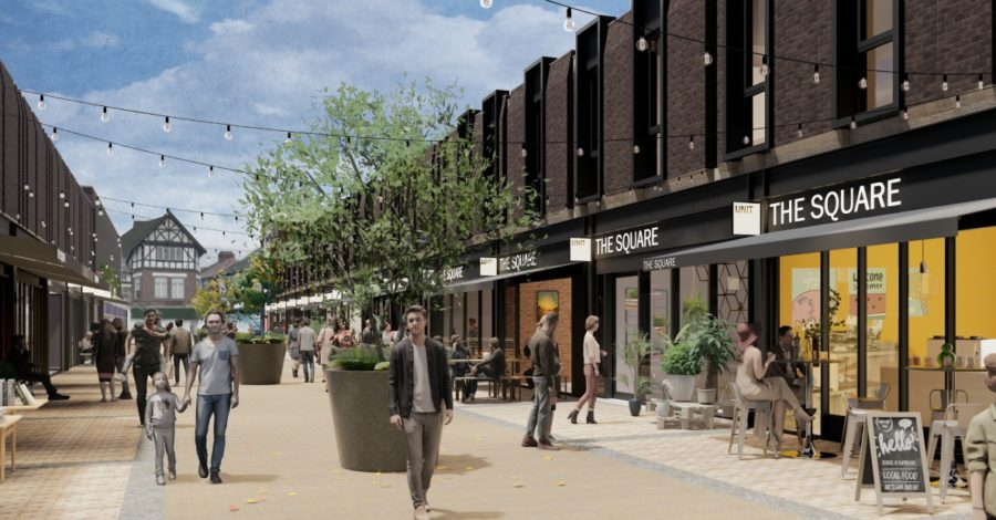 Mall aims to grab a slice of Sale night-life as new plans are revealed
